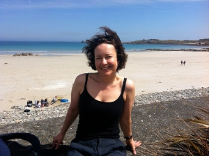 In my element(s): sun, sand, sea, cycling