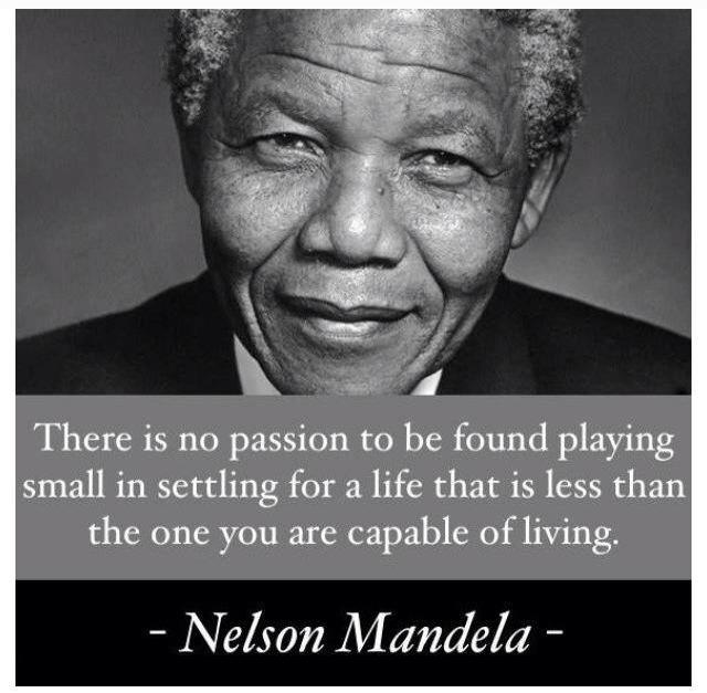 Nelson Mandela Quotes On Change: Dreaming Of Greatness
