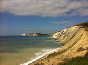 Also love the sea - this is the Isle of Wight