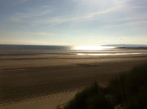 Camber Sands in the October sunshine